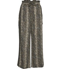 melina pants pyjamasbyxor mjukisbyxor brun underprotection