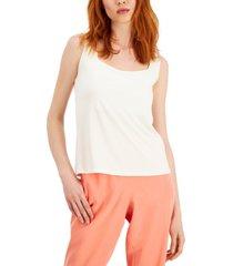alfani square-neck sleeveless top, created for macy's