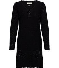 maureen dress dresses knitted dresses zwart odd molly