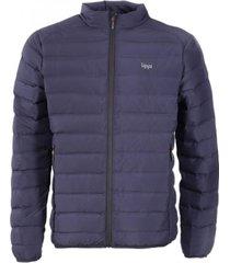 chaqueta aspen down hoody jacket azul marino lippi