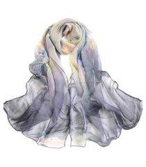 lenço artestore de chiffon feminina