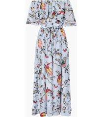 algarve dress paisley parrot cotton silk voile