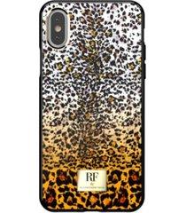 richmond & finch fierce leopard case for iphone xs max