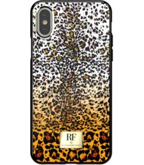 richmond & finch fierce leopard case for iphone xs max
