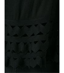 andrea bogosian knit bodysuit - black
