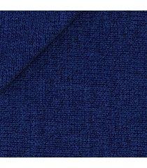 giacca da uomo su misura, drago, blu hopsack, quattro stagioni   lanieri