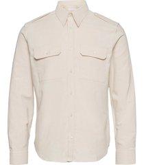 strap shirt.vintage overhemd casual crème helmut lang