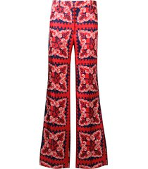 valentino mini bandana trousers - red