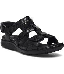 kylyn step shoes summer shoes flat sandals svart clarks
