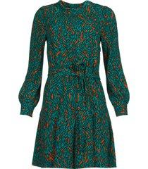 jurk met print dolly  groen
