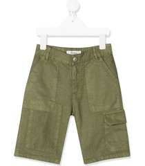 bonpoint cargo pocket shorts - green