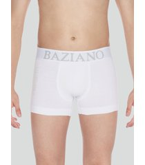 boxer algodón lycra blanco baziani