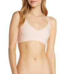 women's commando butter bralette, size x-large - pink