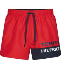 vestido de bano runner rojo tommy hilfiger