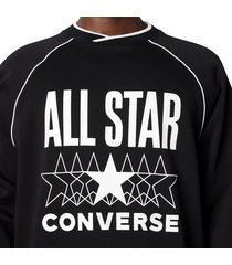 converse sudadera all star black