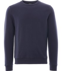 a.p.c capitol sweatshirt   dark navy   h27383-iak