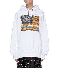 'funkadelic' graphic print hoodie