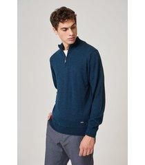 sweater azul prototype suit zip