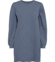 abito in felpa con cotone biologico e maniche ampie (grigio) - rainbow