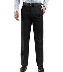 mens plus 30-48 addensare pantaloni stile allentati piatto anteriore caldo pantaloni casual casaul vestito