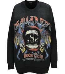 dsquared2 d squared rock sweatshirt