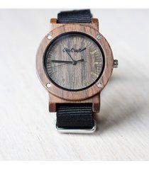 damski drewniany zegarek swift