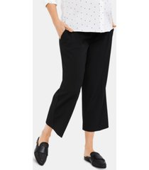 a pea in the pod maternity cropped dress pants