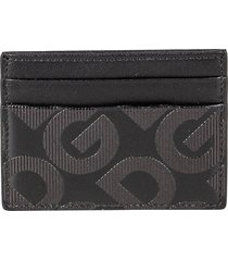 dolce & gabbana logo print card holder