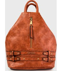 mochila bondi marrón amphora
