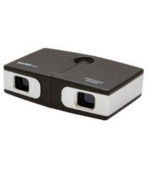binóculo ultra compacto com ampliaçáo de 7 x e lentes 18 mm preto