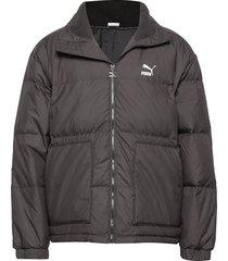 classics down jacket gevoerd jack grijs puma