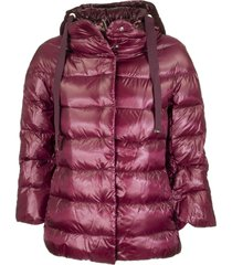 herno down jacket with hood