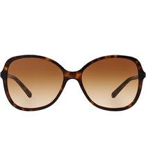 burberry burberry be4197 dark havana sunglasses