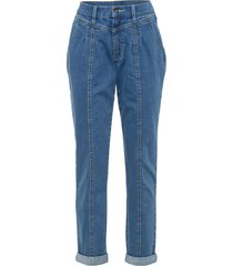 jeans paperbag in cotone biologico (blu) - rainbow