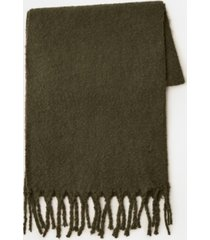 mango recycled polyester scarf