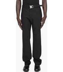 1017 alyx 9sm metal buckle suit pant