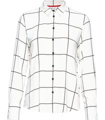 blouse long-sleeve blus långärmad vit gerry weber