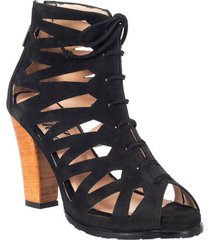 botin formal para dama san polos at-130 negro