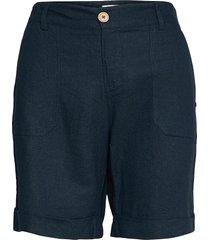 pzbianca shorts shorts chino shorts blå pulz jeans