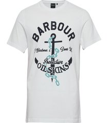 barbour harbour tee t-shirts short-sleeved vit barbour
