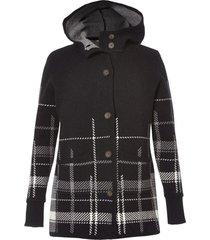 sweater coat negro royal robbins by doite