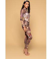 akira renaissance mesh jumpsuit with attached corset
