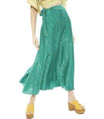 falda pippa padang verde - calce holgado