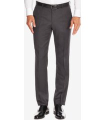 boss men's regular/classic-fit virgin wool dress pants