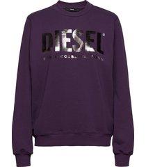 f-ang sweat-shirt sweat-shirt trui paars diesel women
