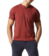 men's good man brand premium cotton t-shirt, size small - red