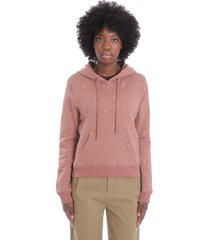 see by chloé sweatshirt in brown cotton