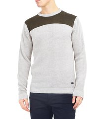 sweater brave soul crudo - calce regular