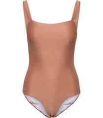 patricia mommy swimsuit structure baddräkt badkläder rosa liewood