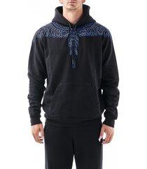 marcelo burlon cotton sweatshirt